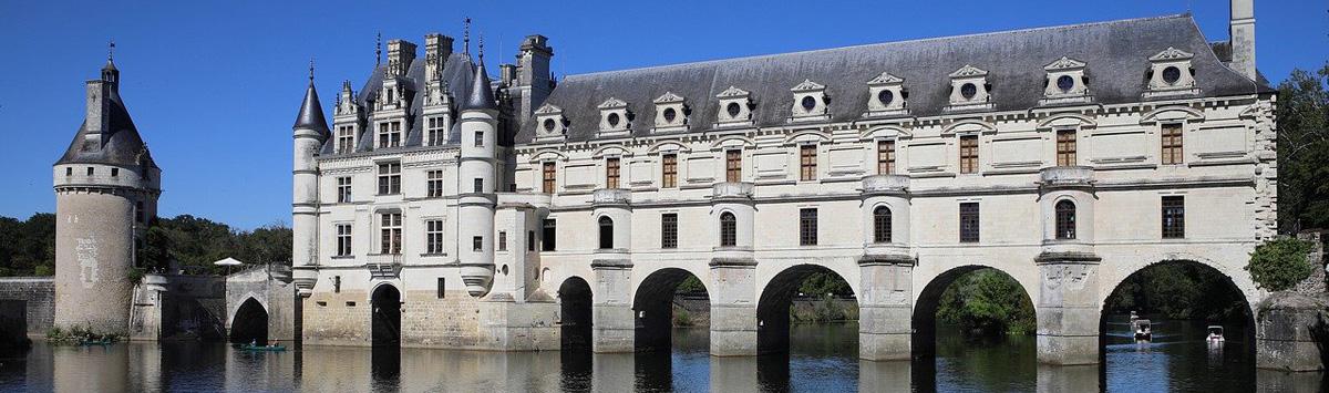 Château en Touraine : chateau de Chenonceau