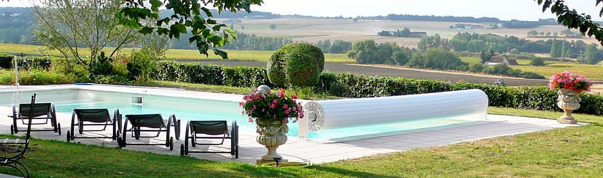 Le Grand Cormier, gîte en Touraine avec piscine